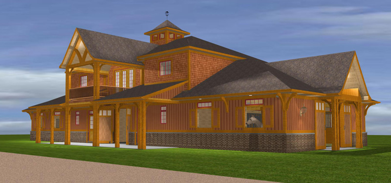 Barn apartments joy studio design gallery best design Barn with apartment plans